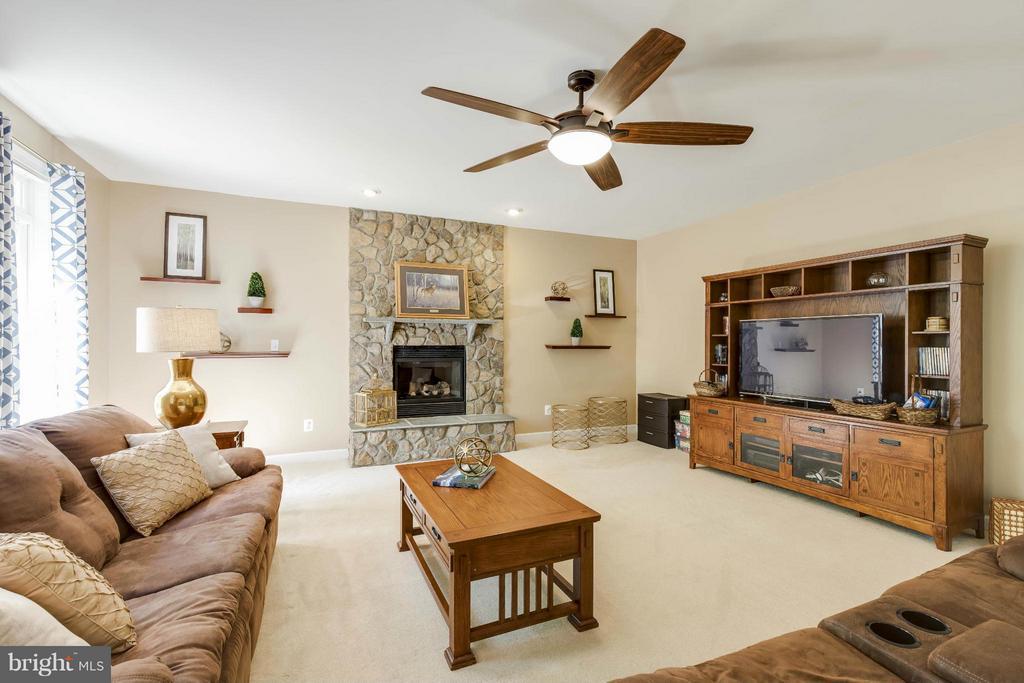 Family Room - 14388 WATERFORD WOODS CT, LEESBURG