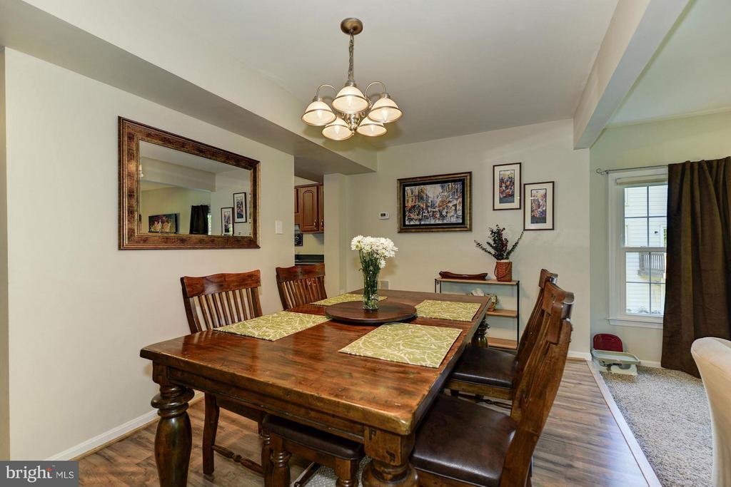 Dining Room - 11932 GLEN ALDEN RD, FAIRFAX