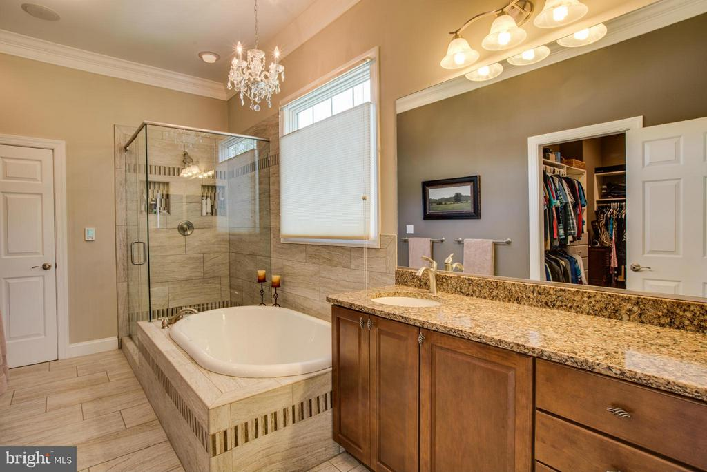 Master Bath w/heated floors - 11623 RIVER MEADOWS WAY, FREDERICKSBURG