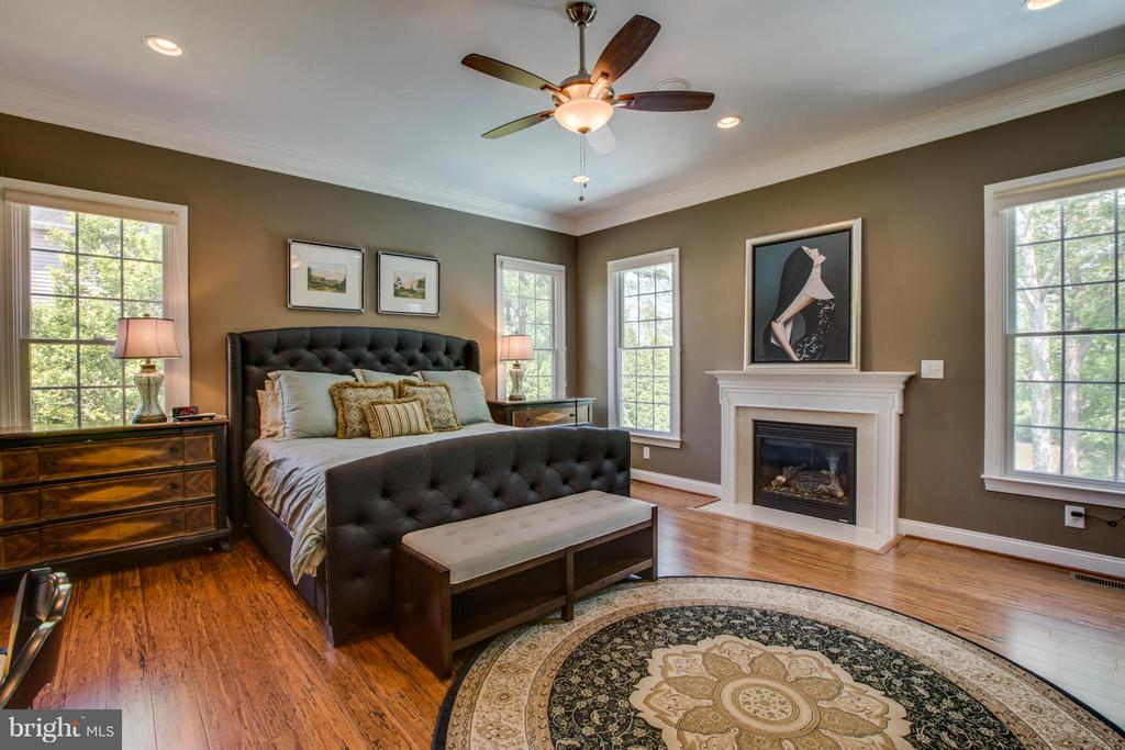 Master Bedroom with water view - 11623 RIVER MEADOWS WAY, FREDERICKSBURG