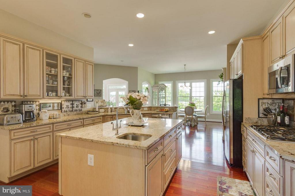 Gourmet kitchen w/veggie sink - 38414 DITCHLING PL, HAMILTON