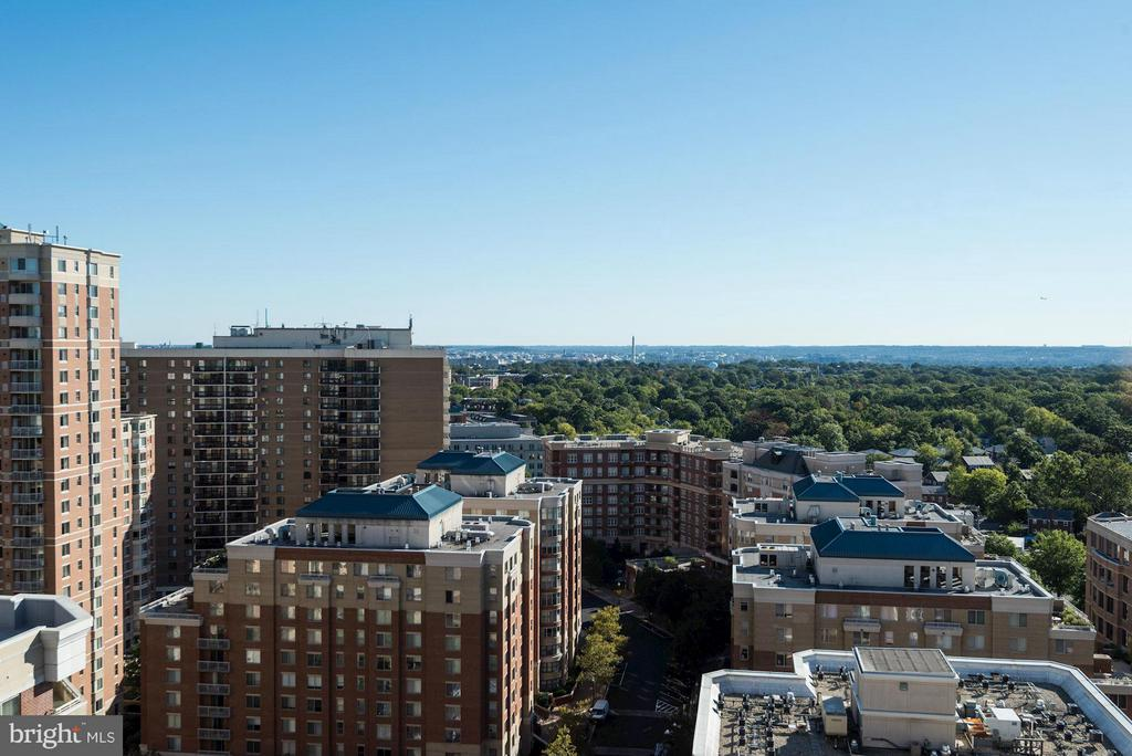 Rooftop view - 888 QUINCY ST #201, ARLINGTON