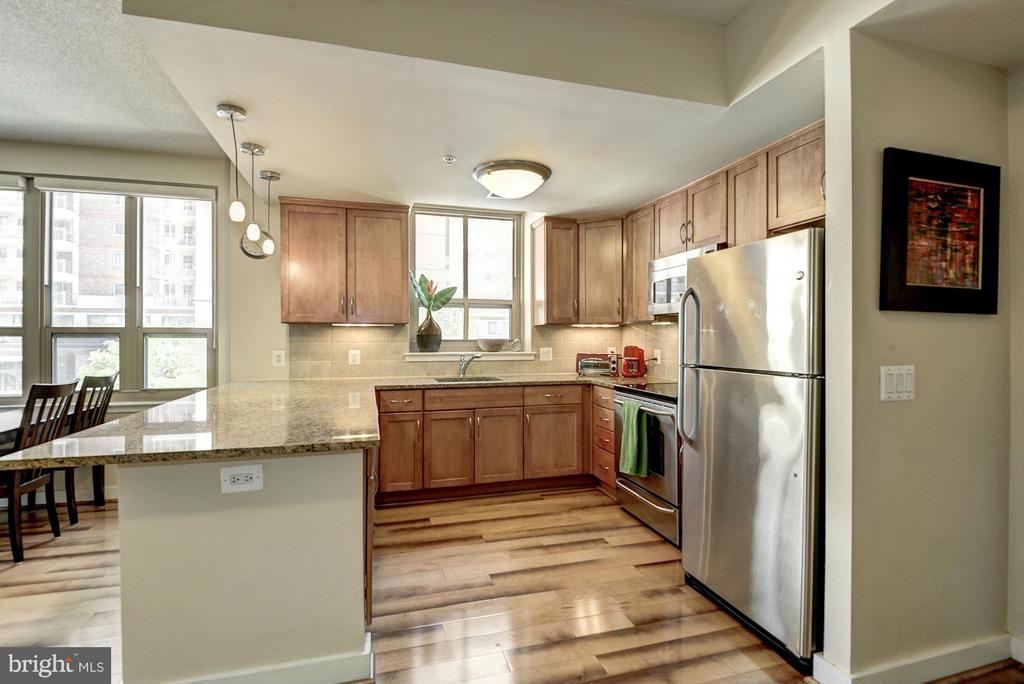 Gourmet kitchen - 888 QUINCY ST #201, ARLINGTON