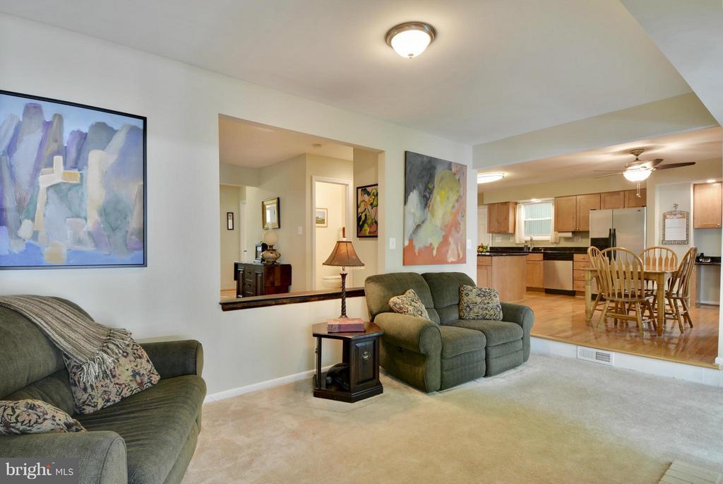 Family Room - 2615 BLACK FIR CT, RESTON