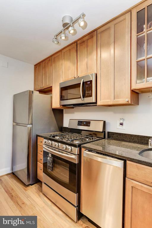 GAS cooking is included in condo fee! No Gas BiLL! - 2410 20TH ST NW #8, WASHINGTON