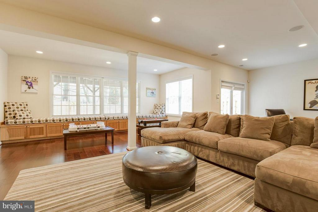 Lower Level Family Room - 10850 GROVEHAMPTON CT, RESTON