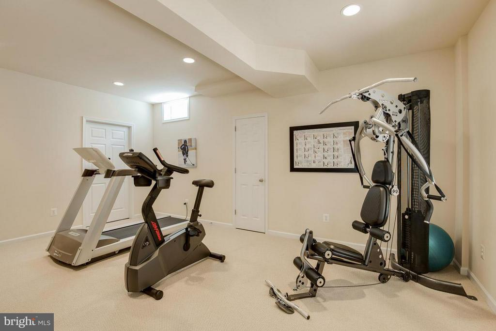 Work Out Room - 10850 GROVEHAMPTON CT, RESTON