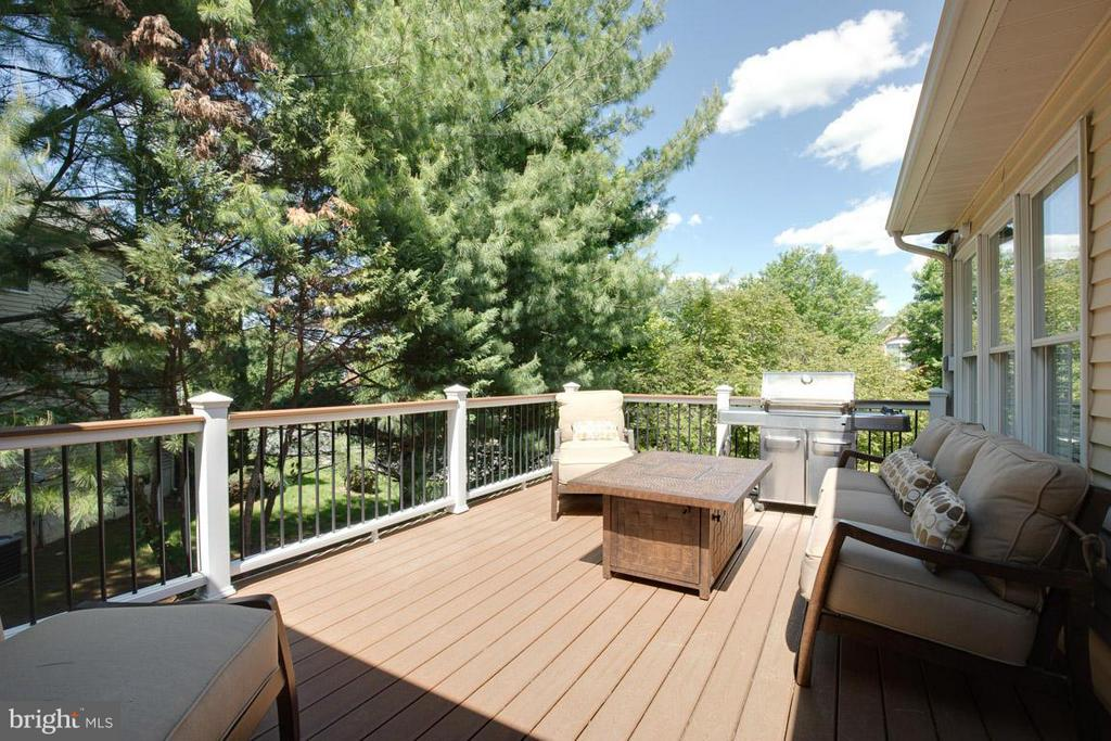 Deck - 10850 GROVEHAMPTON CT, RESTON