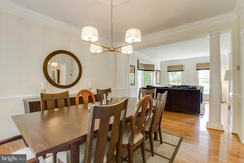 Dining Room - 10850 GROVEHAMPTON CT, RESTON