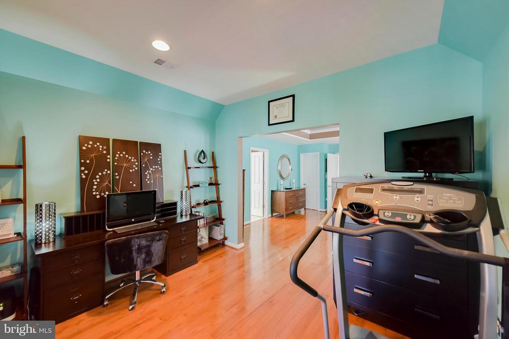 Sitting room off of Master Bedroom - 25046 MINERAL SPRINGS CIR, ALDIE