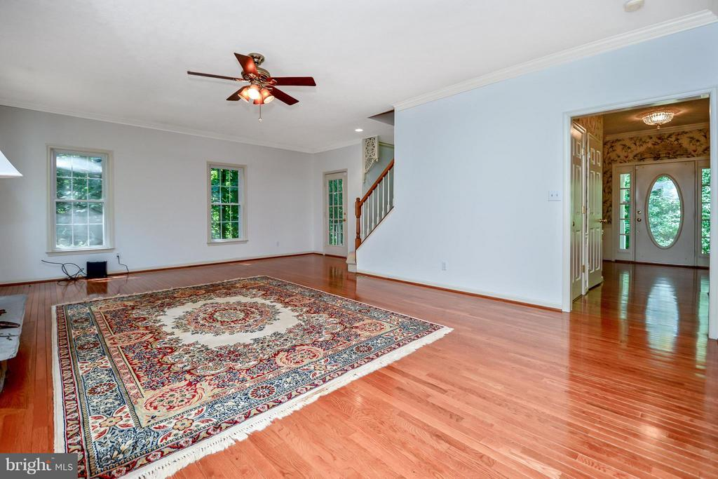 Family Room - 13421 FOX CHASE LN, SPOTSYLVANIA