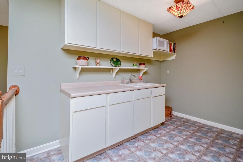 Kitchenette area in basement - 13421 FOX CHASE LN, SPOTSYLVANIA
