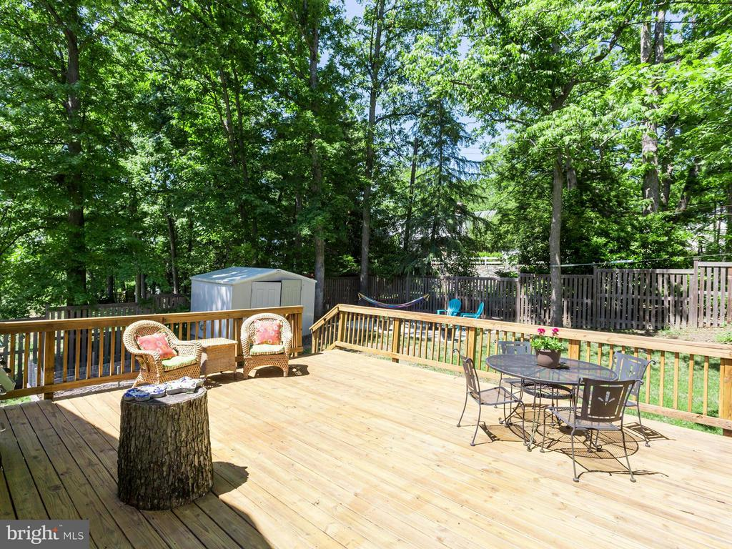 No vacation needed if you have this deck/yard! - 4700 CARE DR, ALEXANDRIA