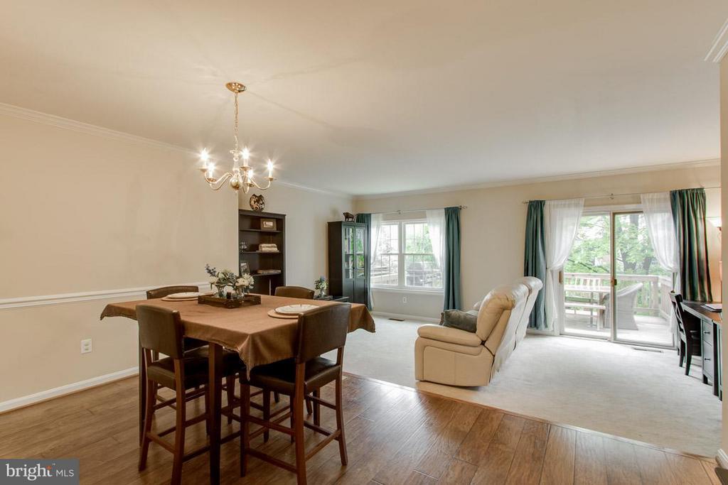 Dining Room - 12302 FIELD LARK CT, FAIRFAX