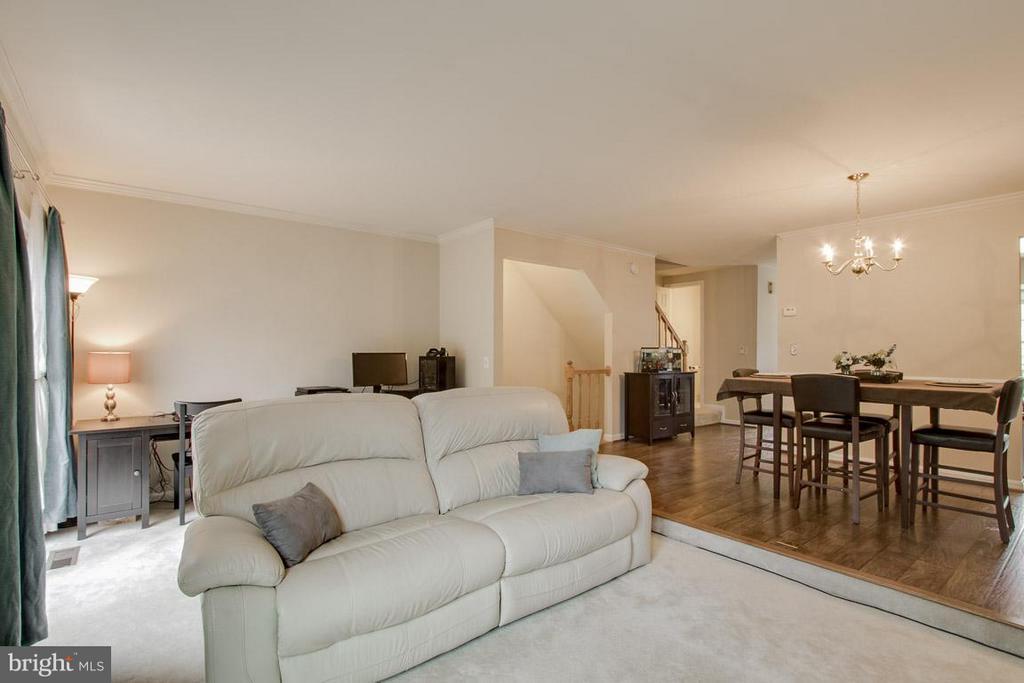 Living Room - 12302 FIELD LARK CT, FAIRFAX