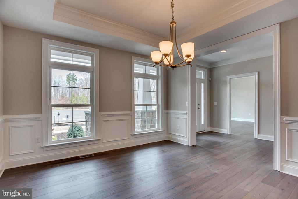 Dining Room - LOT 45 DOWNTON AVENUE, SPOTSYLVANIA