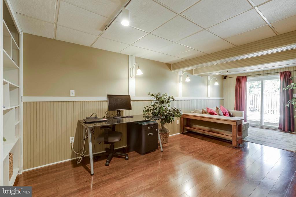 Newer Hardwood in Rec Room - 5830 APPLE WOOD LN, BURKE