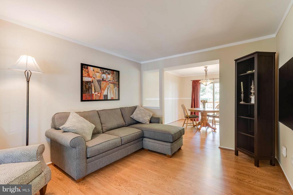 Newly Refinished Oak Hardwood Floors - 5830 APPLE WOOD LN, BURKE