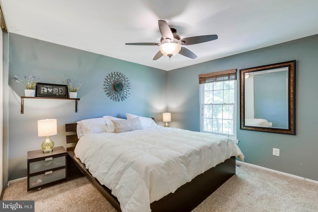 Good Sized Master Bedroom - 5830 APPLE WOOD LN, BURKE