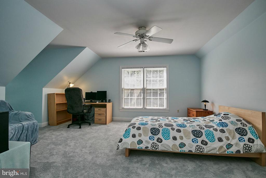 Large bedroom has an ensuite bathroom - 3601 PARAMOUNT RD, FAIRFAX