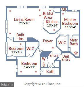 Floor Plan - 12001 MARKET ST #250, RESTON
