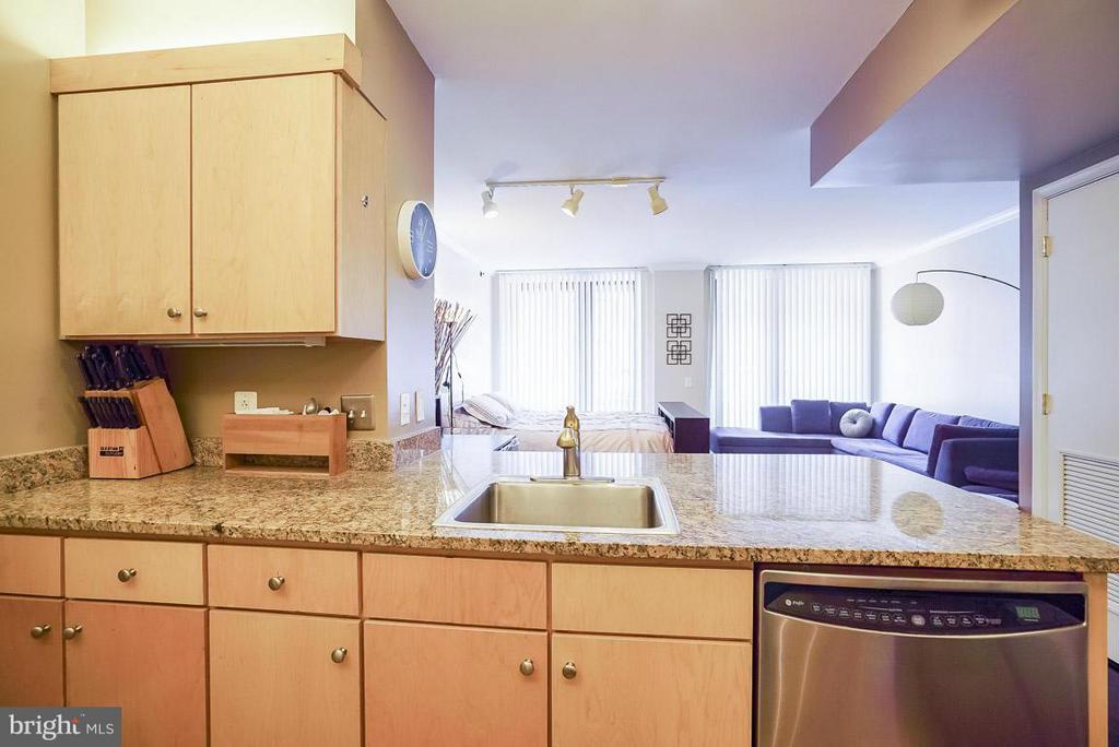 Kitchen - 616 E ST NW #1107, WASHINGTON