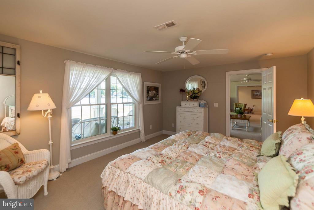 Lower Bedroom with walkout to Lakeview - 109 RAMSAY RD, LOCUST GROVE