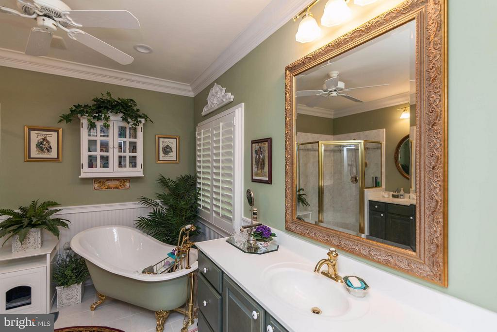 Master with Sep Shower & Standing Tub - 109 RAMSAY RD, LOCUST GROVE