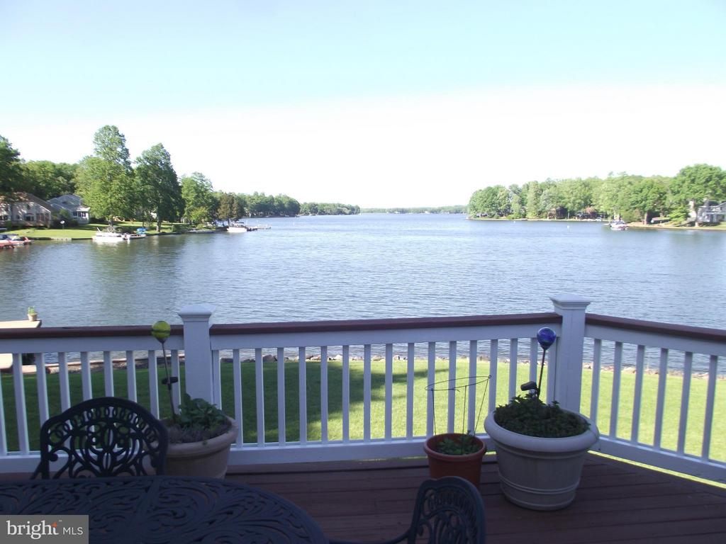 Lake view from deck - 109 RAMSAY RD, LOCUST GROVE