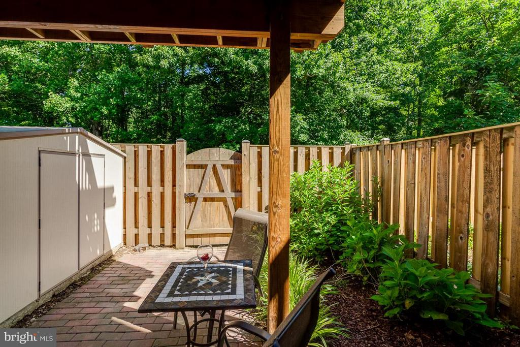 The Shed conveys! - 7303 MALLORY LN, ALEXANDRIA