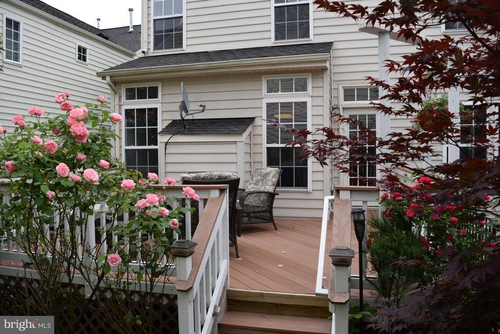 Enjoy Low Maintenance Trex Deck w/Roses All Around - 6016 PRESWELL CT, GAINESVILLE