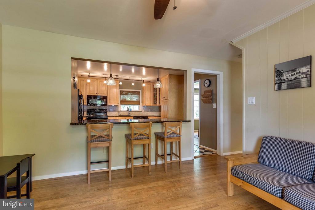 Living Room - 4640 TARA DR, FAIRFAX