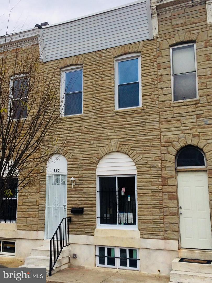 Single Family for Sale at 503 Lakewood Ave N Baltimore, Maryland 21205 United States