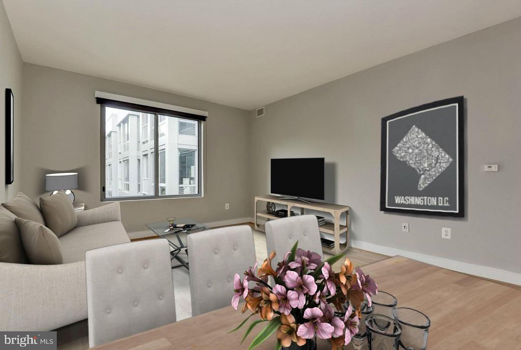 Living Space (3 of 4) - 4101 ALBEMARLE ST NW #526, WASHINGTON