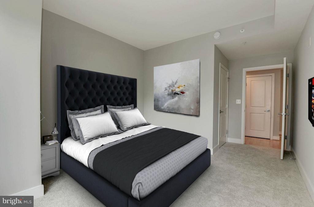 Bedroom (3 of 3) - 4101 ALBEMARLE ST NW #526, WASHINGTON