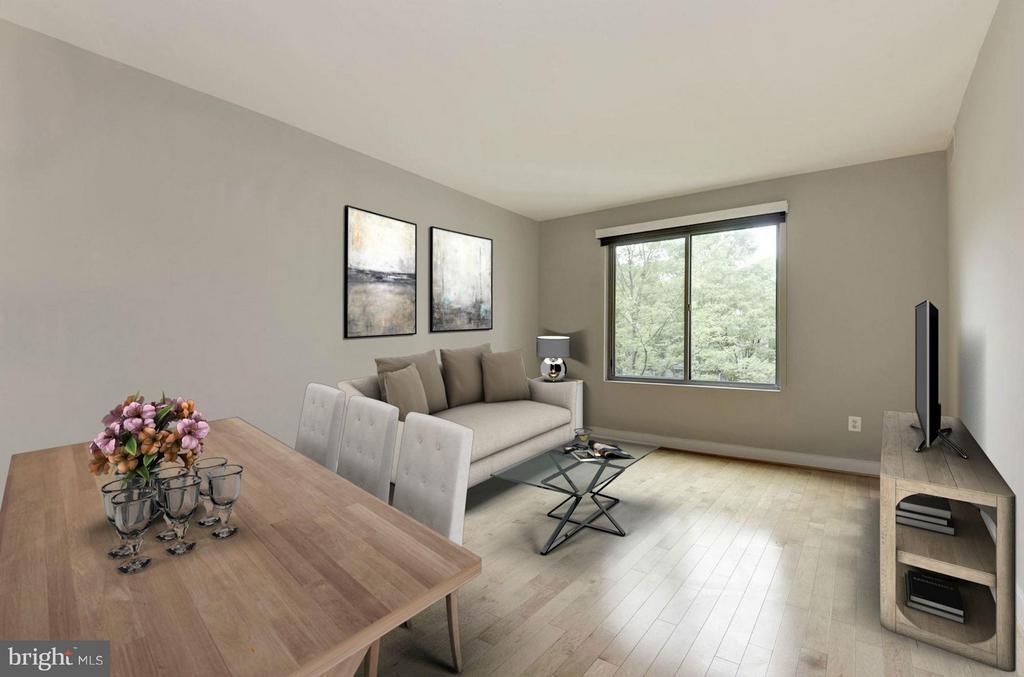 Living Space (2 of 4) - 4101 ALBEMARLE ST NW #526, WASHINGTON