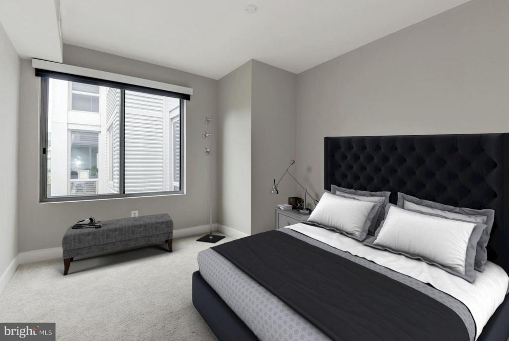 Bedroom (1 of 3) - 4101 ALBEMARLE ST NW #526, WASHINGTON