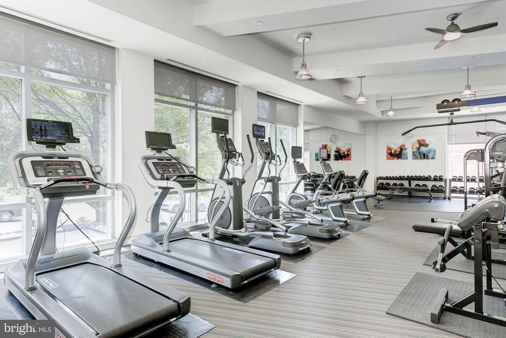 Fitness Center (1 of 2) - 4101 ALBEMARLE ST NW #526, WASHINGTON