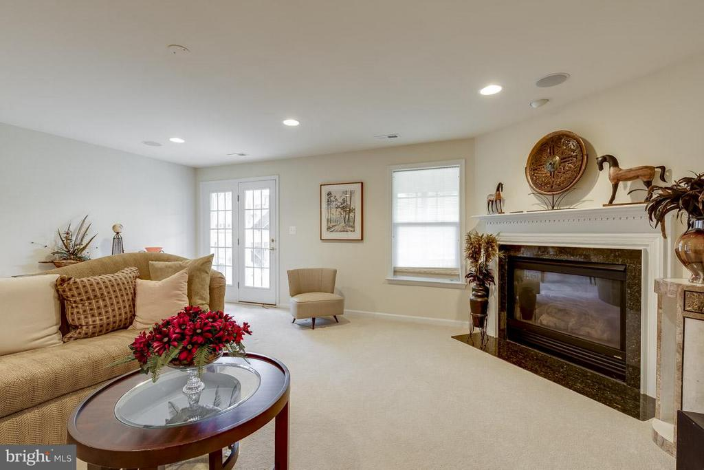 Gas Fireplace In Rec Rm - 44108 RIVERPOINT DR, LEESBURG