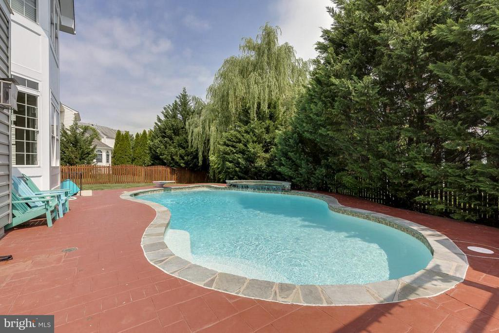 Salt water pool, come relax! - 18434 RIM ROCK CIR, LEESBURG