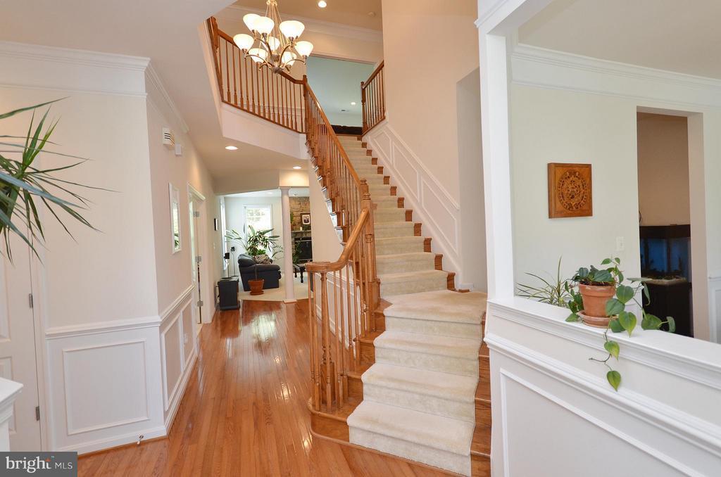 Stunning Staircase - 43014 PARK CREEK DR, BROADLANDS
