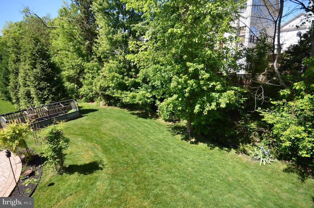 Lovely back yard - 43014 PARK CREEK DR, BROADLANDS