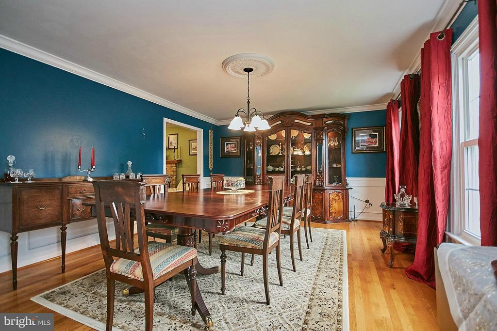 Dining Room - 6204 SANDSTONE WAY, CLIFTON