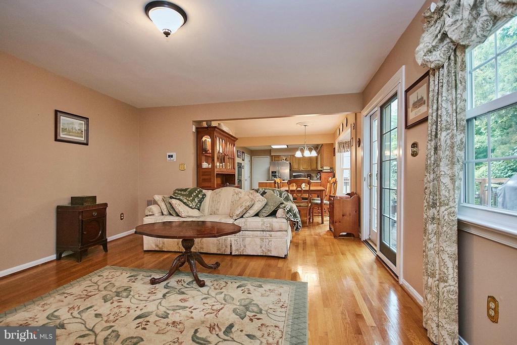 Family Room - 6204 SANDSTONE WAY, CLIFTON