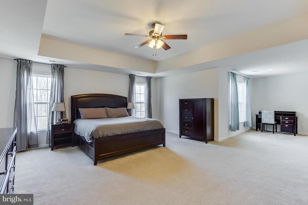 Master Suite with Sitting Room - 98 COACHMAN CIR, STAFFORD