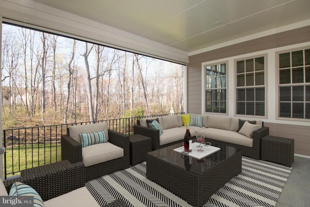 Outdoor Living Area - 40972 BLOSSOM GLADE DR, ALDIE