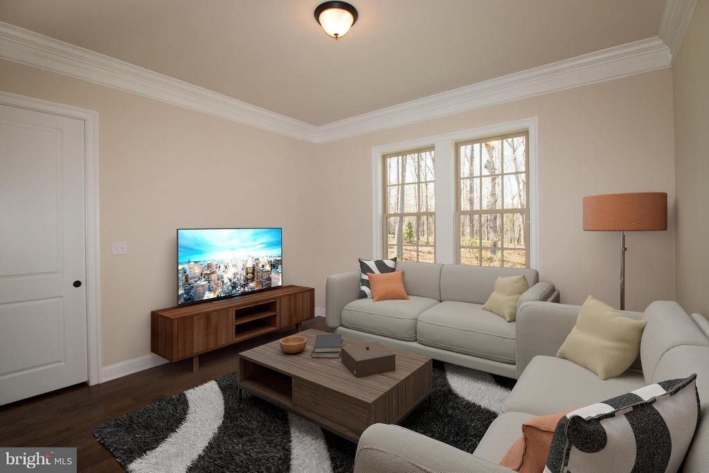 Independent Living Suite Living Room - 40972 BLOSSOM GLADE DR, ALDIE