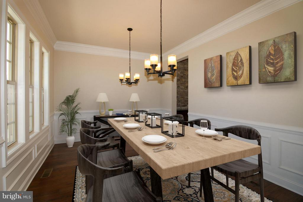 Dining Room - 40972 BLOSSOM GLADE DR, ALDIE