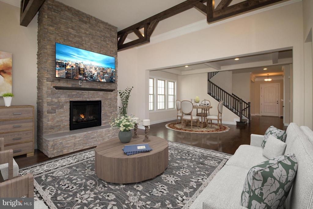Family Room - 40972 BLOSSOM GLADE DR, ALDIE
