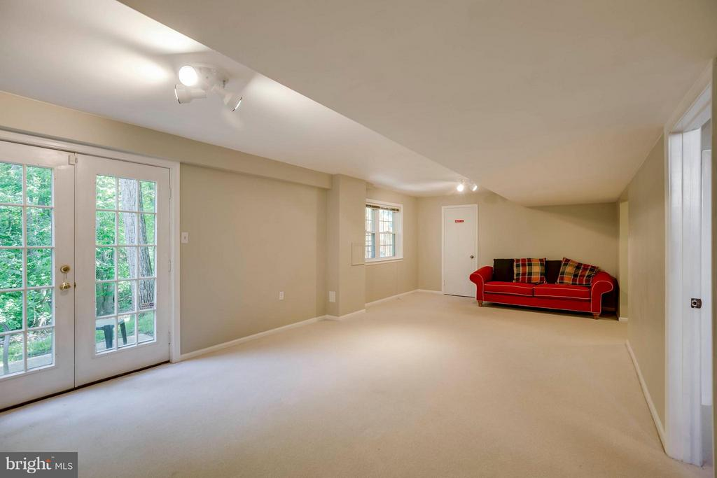 Large Recreation Room - 12559 LIEUTENANT NICHOLS RD, FAIRFAX